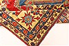 Kazak Red Hand Knotted 117 X 148  Area Rug 250-28827 Thumb 4