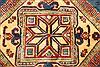 Kazak Red Hand Knotted 117 X 148  Area Rug 250-28827 Thumb 6