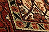 Herati Beige Hand Knotted 27 X 40  Area Rug 250-28940 Thumb 4