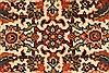 Herati Beige Hand Knotted 27 X 40  Area Rug 250-28940 Thumb 7