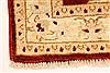 Pishavar Beige Hand Knotted 27 X 40  Area Rug 250-28961 Thumb 1