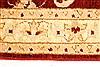 Pishavar Beige Hand Knotted 27 X 40  Area Rug 250-28961 Thumb 3