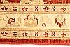 Pishavar Beige Hand Knotted 27 X 311  Area Rug 250-28965 Thumb 3