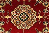Isfahan Beige Hand Knotted 28 X 41  Area Rug 250-28975 Thumb 2