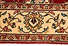 Isfahan Beige Hand Knotted 28 X 41  Area Rug 250-28975 Thumb 3