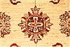 Pishavar Beige Hand Knotted 29 X 311  Area Rug 250-28980 Thumb 2