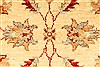 Pishavar Beige Hand Knotted 29 X 40  Area Rug 250-28982 Thumb 2