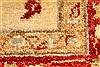 Pishavar Beige Hand Knotted 29 X 40  Area Rug 250-28982 Thumb 8