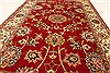 Isfahan Red Hand Knotted 27 X 42  Area Rug 250-28993 Thumb 4