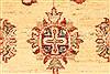 Pishavar Beige Hand Knotted 28 X 43  Area Rug 250-28999 Thumb 2