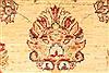 Pishavar Beige Hand Knotted 28 X 43  Area Rug 250-28999 Thumb 7