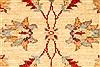 Pishavar Beige Hand Knotted 29 X 41  Area Rug 250-29006 Thumb 2
