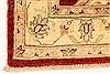 Pishavar Beige Hand Knotted 29 X 42  Area Rug 250-29011 Thumb 6