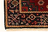 Karajeh Red Hand Knotted 27 X 42  Area Rug 250-29028 Thumb 1