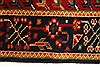 Karajeh Red Hand Knotted 27 X 42  Area Rug 250-29028 Thumb 3