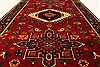 Karajeh Red Hand Knotted 27 X 42  Area Rug 250-29028 Thumb 4