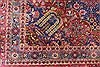 Kashan Red Hand Knotted 72 X 99  Area Rug 254-29134 Thumb 3