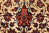 Isfahan Beige Hand Knotted 610 X 109  Area Rug 254-29135 Thumb 2