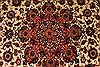 Isfahan Beige Hand Knotted 610 X 109  Area Rug 254-29135 Thumb 6