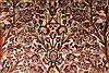 Kashan Beige Hand Knotted 69 X 104  Area Rug 254-29136 Thumb 1