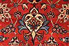 Isfahan Red Hand Knotted 107 X 160  Area Rug 254-29139 Thumb 5