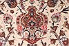 Tabriz Beige Hand Knotted 68 X 101  Area Rug 254-29160 Thumb 1
