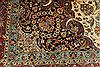 Tabriz Blue Hand Knotted 118 X 150  Area Rug 254-29167 Thumb 8