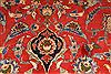 Isfahan Red Hand Knotted 99 X 129  Area Rug 254-29195 Thumb 2