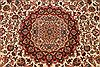 Tabriz Beige Hand Knotted 80 X 116  Area Rug 254-29236 Thumb 6