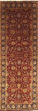 "Agra Beige Hand Knotted 6'1"" X 17'3""  Area Rug 250-29290"
