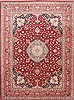 Tabriz Blue Hand Knotted 100 X 132  Area Rug 254-29346 Thumb 0