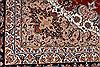 Isfahan Red Hand Knotted 100 X 133  Area Rug 254-29360 Thumb 1