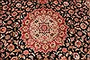 Tabriz Beige Hand Knotted 80 X 99  Area Rug 254-29473 Thumb 3