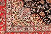 Tabriz Beige Hand Knotted 80 X 99  Area Rug 254-29473 Thumb 5