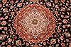 Tabriz Purple Hand Knotted 84 X 103  Area Rug 254-29478 Thumb 3