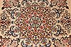 Isfahan Beige Hand Knotted 50 X 79  Area Rug 254-29506 Thumb 3