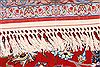 Isfahan Red Hand Knotted 61 X 113  Area Rug 254-29586 Thumb 6