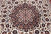 Isfahan White Hand Knotted 85 X 124  Area Rug 254-29606 Thumb 3