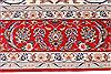 Isfahan White Hand Knotted 85 X 124  Area Rug 254-29606 Thumb 4