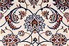 Isfahan White Hand Knotted 85 X 124  Area Rug 254-29606 Thumb 6