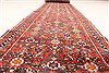 Hossein Abad Blue Runner Hand Knotted 29 X 173  Area Rug 250-29619 Thumb 2