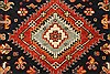 Karajeh Beige Runner Hand Knotted 26 X 200  Area Rug 250-29631 Thumb 6
