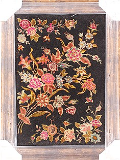"Tabriz Multicolor Hand Knotted 2'0"" X 3'0""  Area Rug 254-29688"