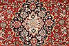 Qum Blue Runner Hand Knotted 27 X 98  Area Rug 254-29723 Thumb 2
