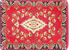 "Kashan Red Hand Woven 2'4"" X 3'2""  Area Rug 254-29745"
