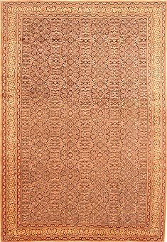 "Kayseri Grey Hand Knotted 8'6"" X 12'6""  Area Rug 100-29755"
