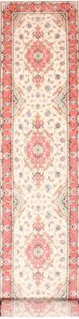 "Tabriz Purple Runner Hand Knotted 2'9"" X 17'3""  Area Rug 254-29946"