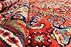 Mahal Multicolor Hand Knotted 113 X 172  Area Rug 254-30155 Thumb 3