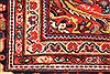 Mahal Multicolor Hand Knotted 113 X 172  Area Rug 254-30155 Thumb 7