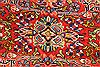 Mahal Multicolor Hand Knotted 113 X 172  Area Rug 254-30155 Thumb 4